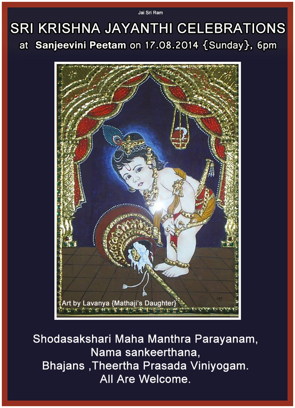 krishna ashtami 17-8-2014