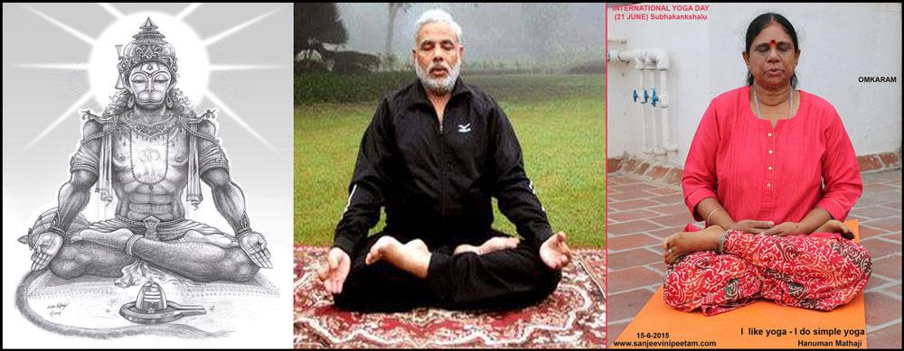 yoga--Hanuman,-Modi