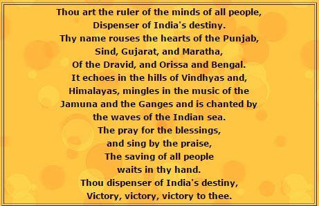 National Anthem english meening